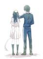 Noragami ( Iki Hiyori x Yato ) - anime fan art