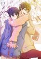 Haruka and Makoto - anime fan art