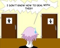 Crona is confused!  - anime fan art