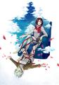 Mikasa and Annie - anime fan art