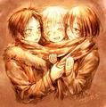 Shingeki no Kyojin - anime fan art
