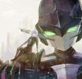 Chamber and Ledo - anime fan art