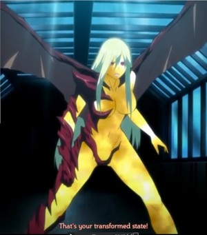 Mina Tepes' true form in Dance in the Vampire Bund