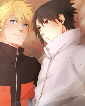 नारूटो and Sasuke