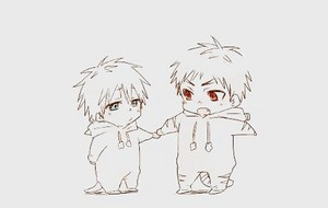 Kagami and Kuroko