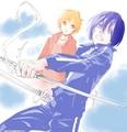 Yato and Yukine - anime fan art