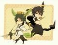 Hakuryuu and Judar - anime fan art