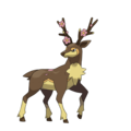 Sawsbuck the deer