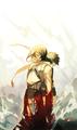 Mikasa and Eren - anime fan art