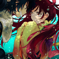 Judar x Kougyoku - anime fan art