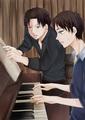 Levi and Eren - anime fan art