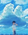 Nanase Haruka - anime fan art