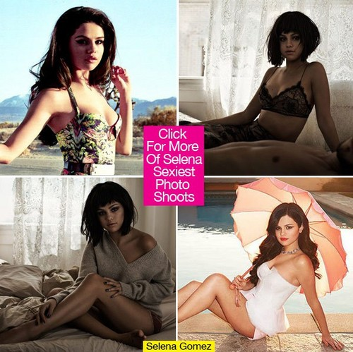 Another সিন্ড্রেলা Story দেওয়ালপত্র containing a bikini, a swimsuit, and attractiveness titled Selena Gomez sexy and hot