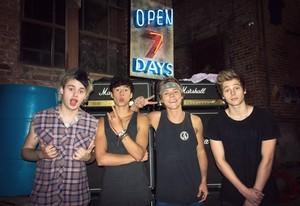 The boys in LA