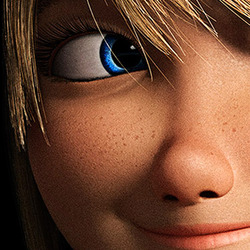New HTTYD 2 Astrid Poster Close-Ups