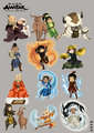 atla__chibi zodiac - avatar-the-last-airbender photo