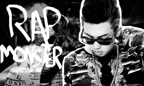 bangtan boys wallpaper probably with sunglasses called ♥ RAP MONSTER - Bangtan Boys ♥