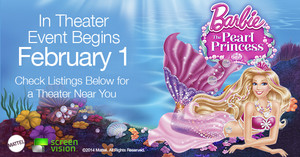 BARBIE: THE PEARL PRINCESS IN THEATER