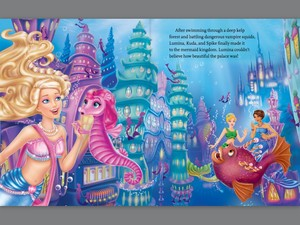 Barbie Pearl Princess,page book