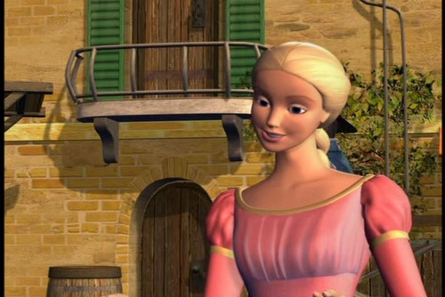 Barbie as Rapunzel wolpeyper probably containing tights and a leotard entitled Rapunzel at Town
