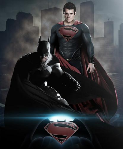 Batman wallpaper called Batman vs Superman Fan-made Poster