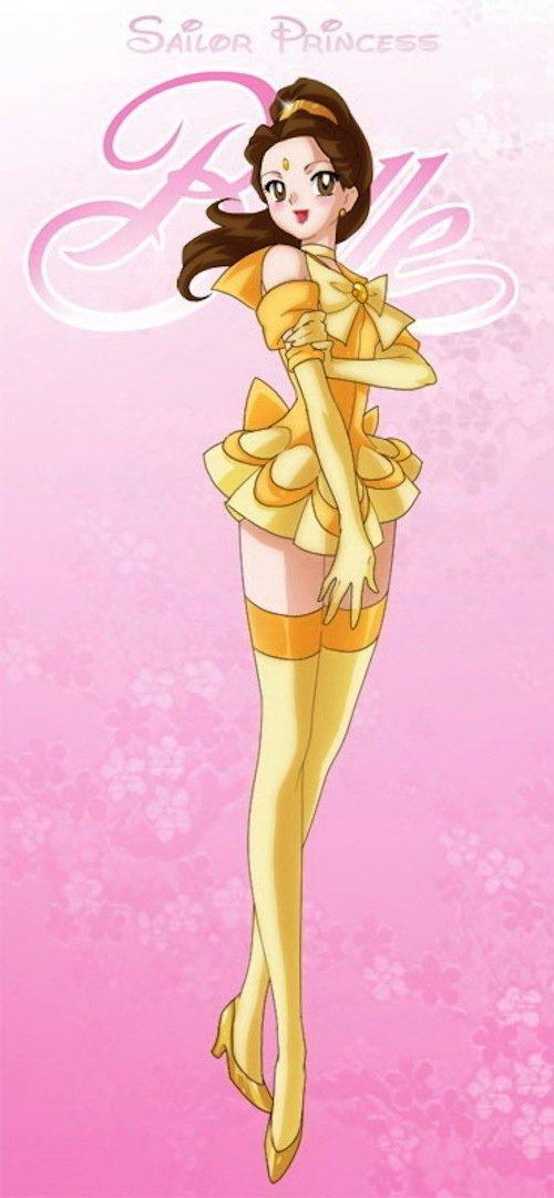 Sailor Princess Belle