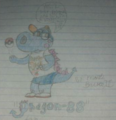 Dragon-88 fan character - birdo fan art