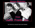 Birthday - three-stooges fan art