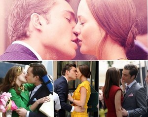 Chuck 低音 and Blair Waldorf 低音