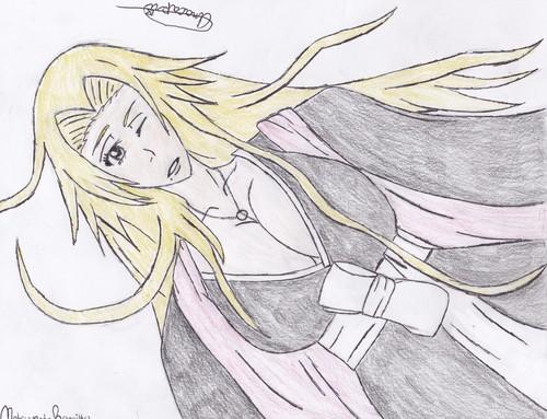 animé Bleach fond d'écran containing animé titled Rangiku Matsumoto fan-art