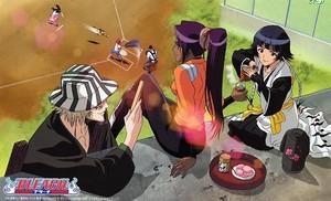 Kisuke, Yoruichi and Soi Fon