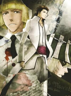 Shinji, Aizen and Kisuke