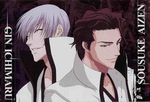জিন Ichimaru and Sosuke Aizen