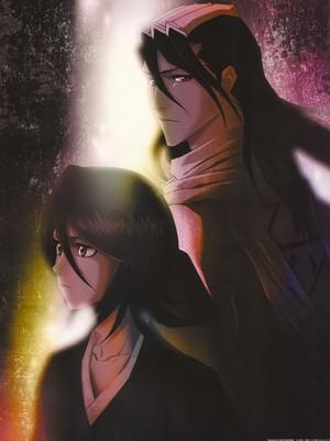 Rukia and Byakuya Kuchiki