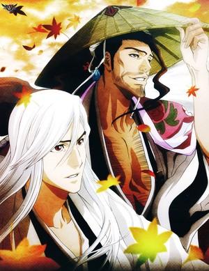 Ukitake and Shinsui