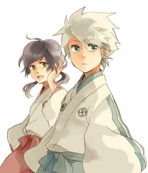 Hitsugaya and Hinamori