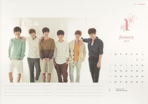 Boyfriend New tahun Greetings