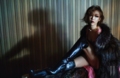 Brown Eyed Girls' Ga In in W Korea January 2014 - brown-eyed-girls photo