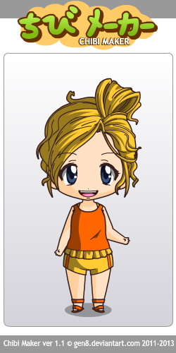 Deema as a chibi