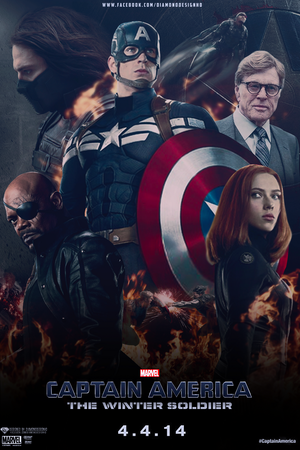 Captain America: Winter Soldier (FAN MADE) Poster