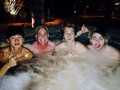 The guys in jacuzzi - calum-hood photo