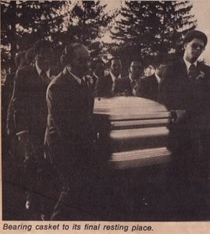 Florence Ballard's Funeral Back In 1976
