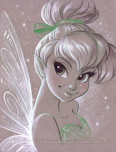 Childhood Animated Movie Heroines پیپر وال entitled Tinkerbell