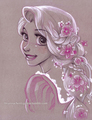 Rapunzel   - childhood-animated-movie-heroines fan art