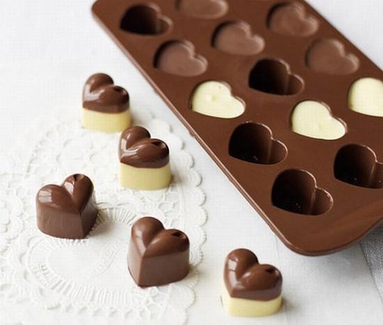 chocolat l'amour Hearts