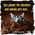 Just Gimme the Chocolate and Nobody Gets Hurt... - chocolate photo