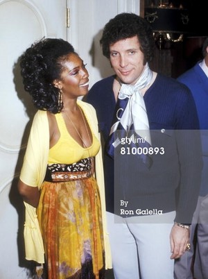 Supremes Vocalist, Mary Wilson And Tom Jones