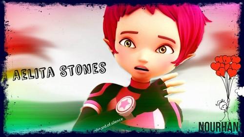 Code Lyoko fond d'écran called Aelita Stones