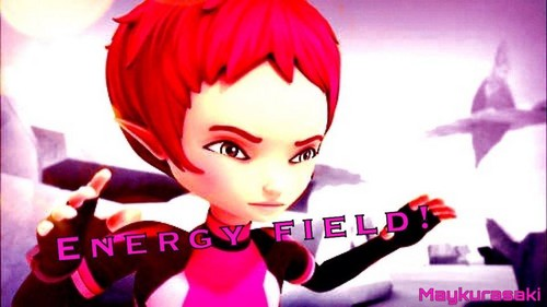 Code Lyoko 壁纸 possibly containing a portrait entitled Aelita Stones