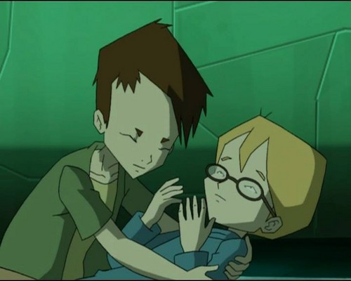 Code Lyoko fond d'écran with animé entitled Ulrich and Jeremie
